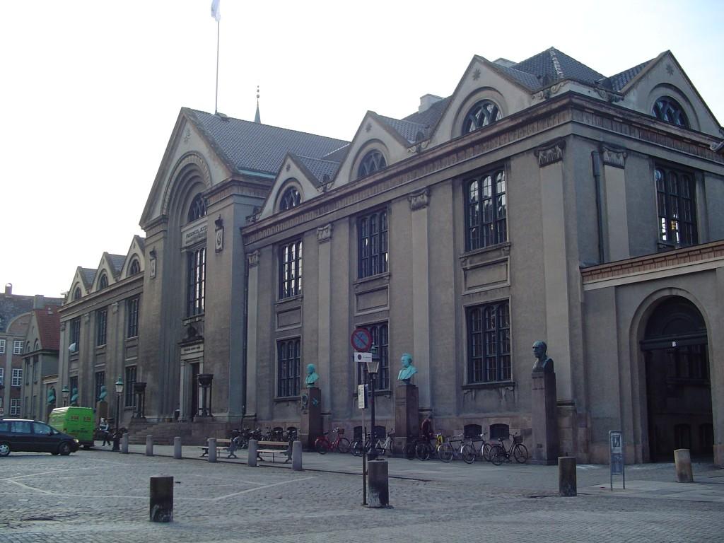 Københavns Universitet, indre by. Billede fra Wikipedia.