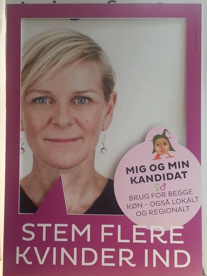 Fra Kvinderådets kampagne i 2009. Foto: Radikalehovedstaden.dk
