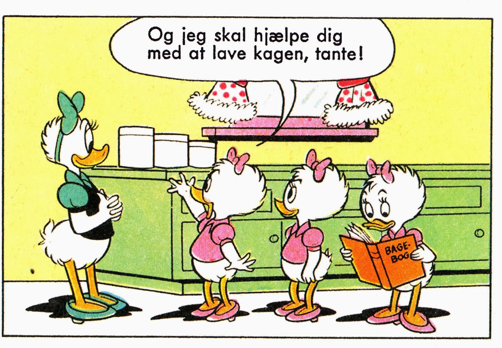 Dansk Kvindesamfund, Kvinderådet og KVINFO vil gerne hjælpe ligestillingsminister Ellen Trane Nørby. Billede: disneyserier.blogspot.com.