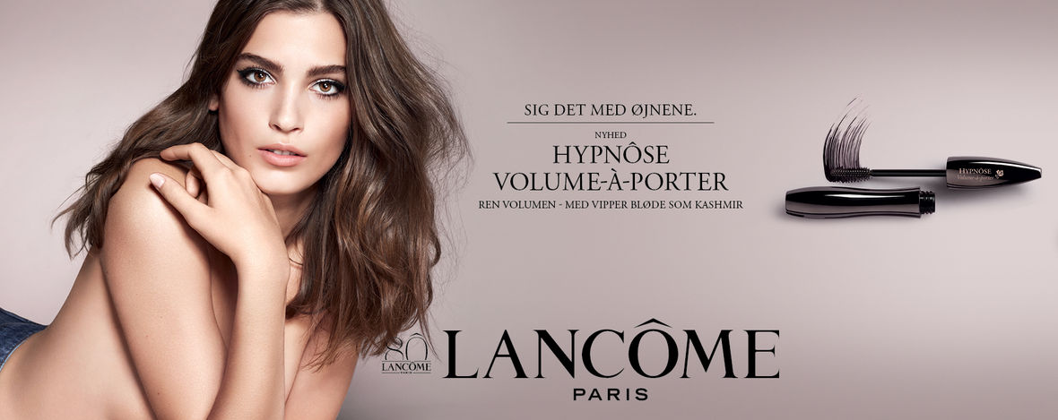 Dansk reklame for Lancôme.