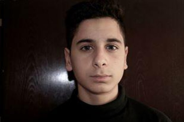 Den 16 år gamle og voldsomt kritiserede Ebrahim Said. Foto: BT.