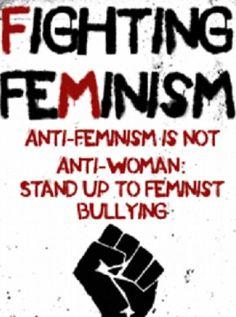 Antifeministisk plakat. Foto: Pinterest.com.