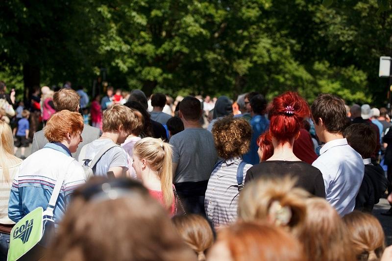 Stemningsbillede fra en festival/arkivfoto.