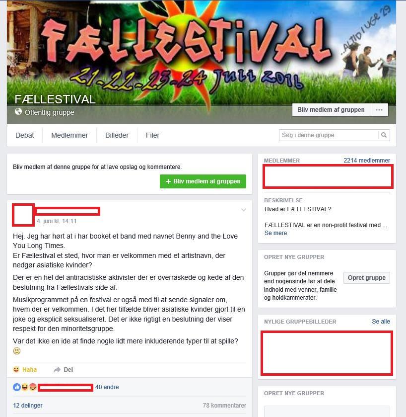Faellesfestival_kritik_af_bandnavn