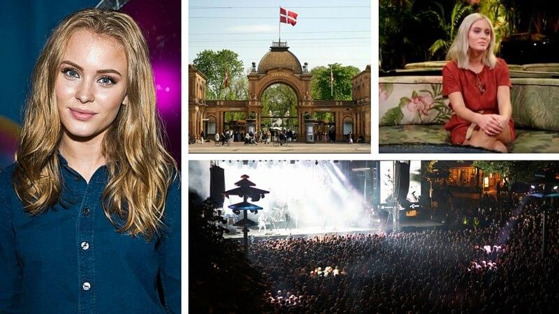 Den svenske popstjerne Zara Larsson har gentagne gange givet udtryk for, at hun hader mænd. Den 24. juni spillede hun til Fredagsrock i Tivoli. Billede: Tivoli/YouTube/Wikipedia.