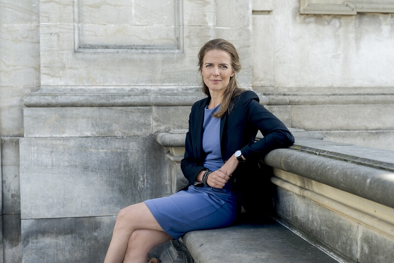 Portræt af Ellen Trane Nørby. Billede: Uvm.dk. Fotograf: Flemming Leitorp.