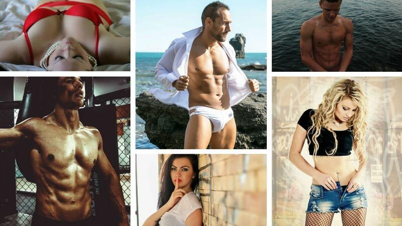 I forbindelse med tilblivelsen af denne artikel spurgte jeg hurtigt på Facebook, hvilken af mændene der så bedst ud. De kvinder, der svarede, pegede på manden i den hvide skjorte. Billede: Arkivfotos.