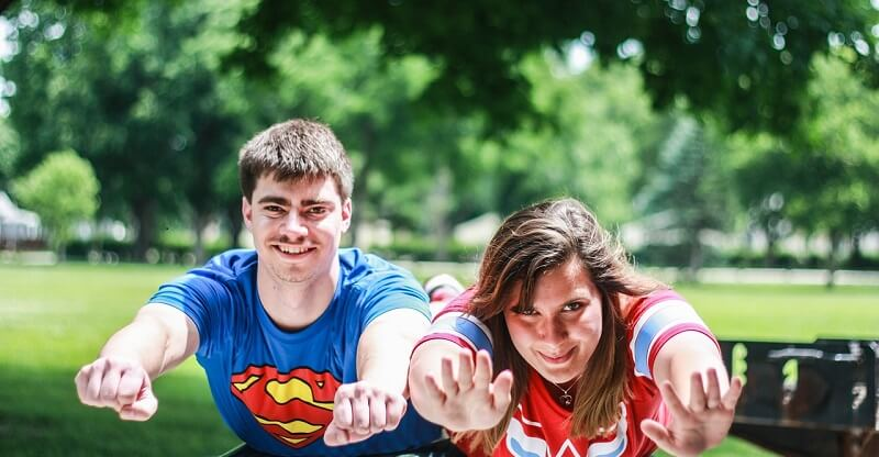 På University of Florida kan de studerende modtage krisehjælp, hvis de føler sig krænkede over andres halloweenkostumer. Billede: Arkivfoto.