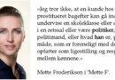 Start med de socialdemokratiske sexkøbere, Mette Frederiksen