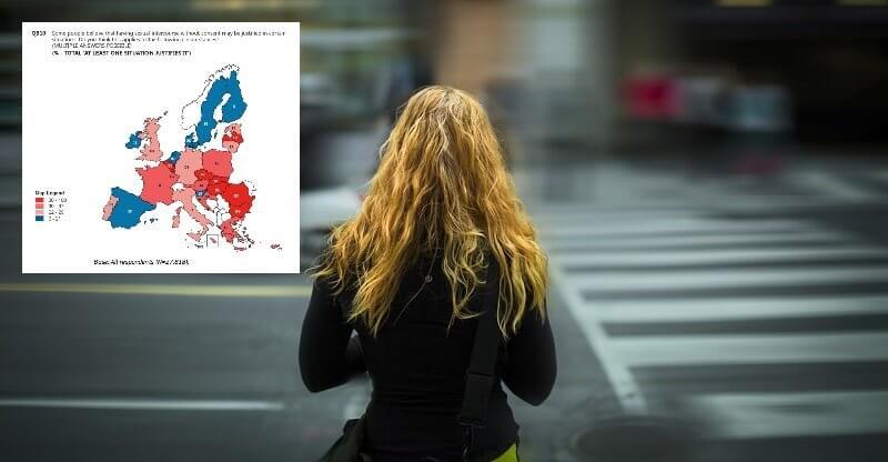 Voldtægt er aldrig kvindens egen skyld, fastslår et stort flertal af danskerne i ny undersøgelse foretaget af EU-kommissionen. Billede: Arkivfoto/Special Eurobarometer 449.