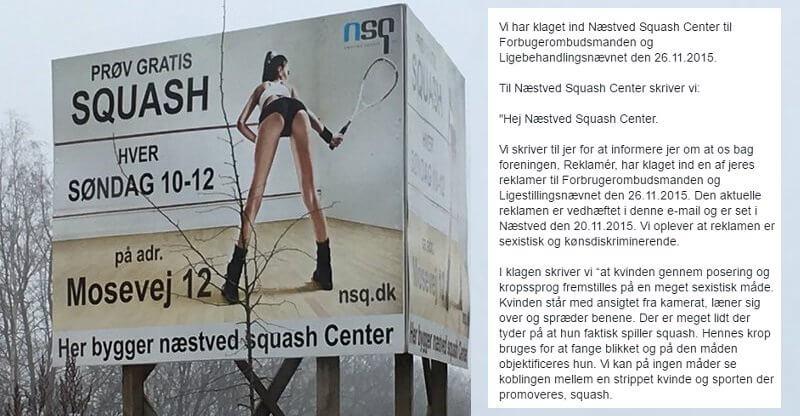 reklamer x bedømt køn