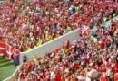 Danske fans havde »sexistisk banner« med til Australien-kamp: FIFA straffer DBU med bøde